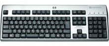 Picture of HP KUS0133 keyboard with built in CAC reader